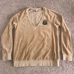 Juicy couture ♡ Velour Beige sweater